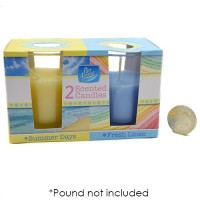Summer Days & Fresh Laundry Candle 2 Pack