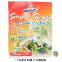 Simply Steam Cook Bags 30 Pack